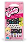 FING'RS GIRLIE NAILS ART CREATIVE STICKER NAIL GLOW IN THE DARK 31252